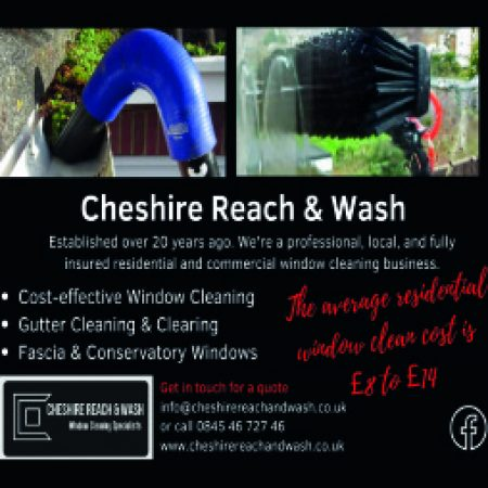 cheshire reach and wash