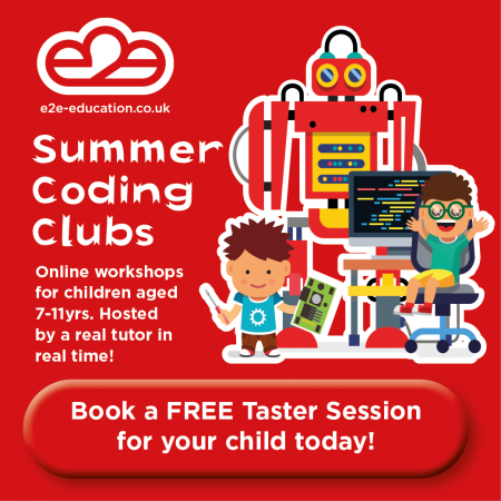 e2e Summer Coding Clubs